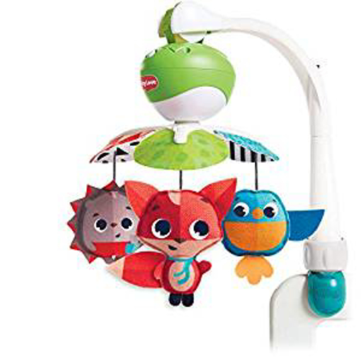 Picture of Tiny Love Take-Along Mobile - Baby Mobile and Stroller Activity Toy with Music - Suitable from Birth - 0+ Months - 5 Melodies - Meadow Days