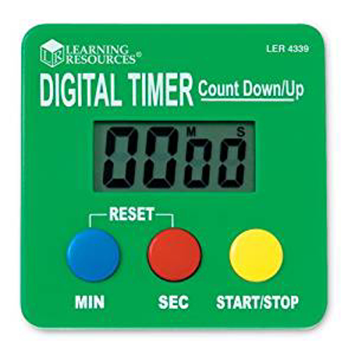 Picture of Learning Resources Digital Timer Count Down/Up