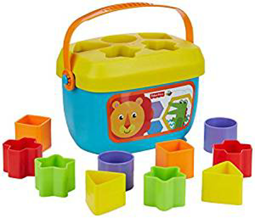 Picture of Fisher-Price FFC84 Baby's First Blocks - Baby Shape Sorter Toy - Suitable for 6 Months Plus