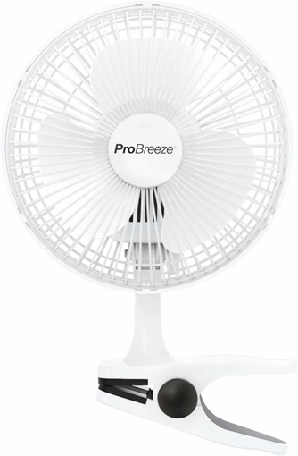 Picture of Mini Clip Fan for Home, Bed, Office and Desk Small Electric Fan with Ultra Quiet