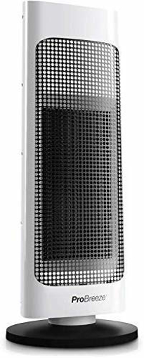 Picture of 2000W Ceramic Tower Fan Heater with Automatic Oscillation,