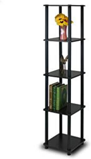 Picture of Furinno 5-Tier Corner Square Rack Display Shelf