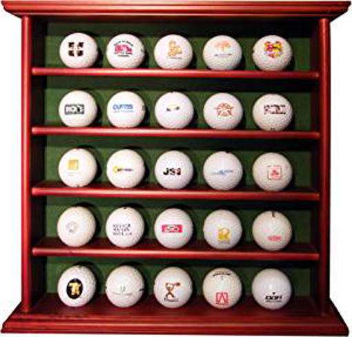 Picture of Longridge Balls Wood Cabinet 25 Ball