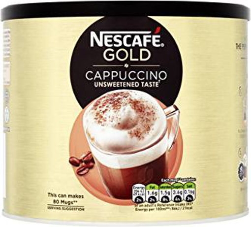 Picture of Nescafé Gold Unsweetened Cappuccino Tin - 1 kg
