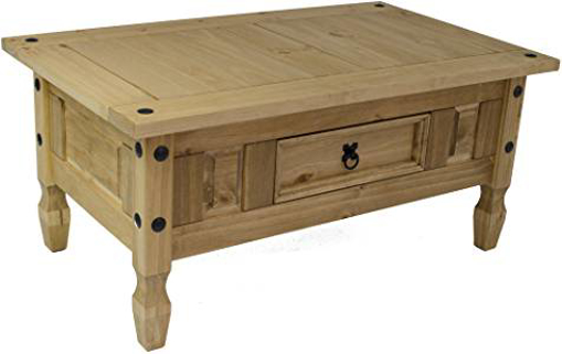 Picture of Vida Designs Corona Coffee Table - Solid Pine Wood