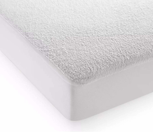 Picture of Extra Deep Waterproof Terry Towel Mattress Protector Topper Cover