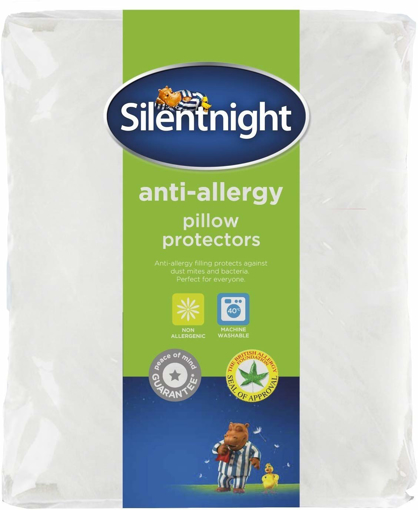 Picture of Anti-Allergy Pillow Protector Plus, White, Pack of 2