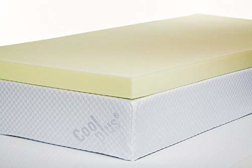 Picture of Memory Foam Mattress Topper, 3 inch - UK Small Double