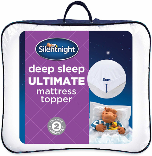 Picture of Ultimate Deep Sleep Topper, White, Single