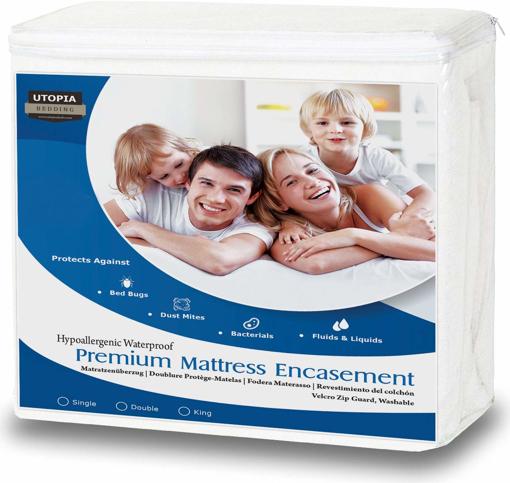 Picture of Premium Zippered Waterproof Mattress Encasement