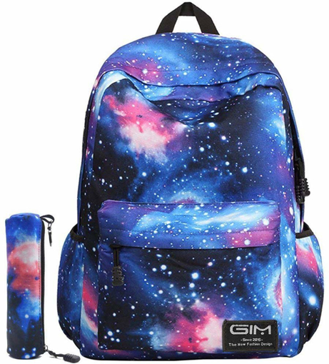 Picture of Unisex Galaxy School Backpack