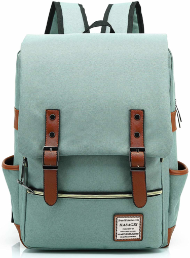 Picture of Ukbb0006 Vintage Unisex Casual School Travel Laptop Backpack