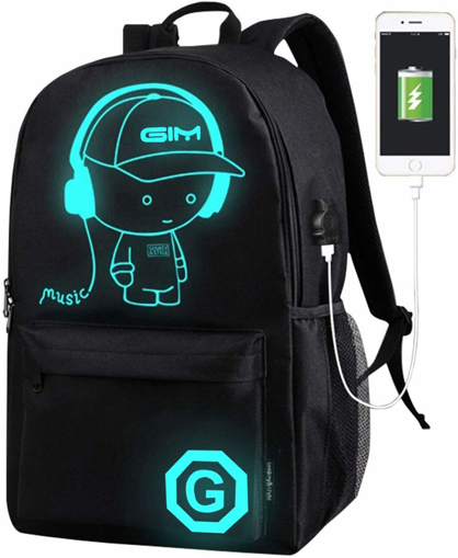 Picture of School Bags, ICETEK Anime Luminous Backpack
