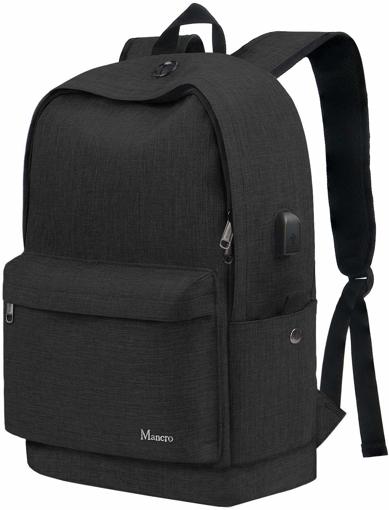 Picture of School Backpack, Slim College Laptop Bag