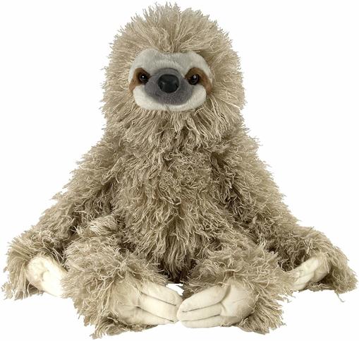 Picture of Sloth Plush, Soft Toy, Cuddlekins, 30 cm, Grey