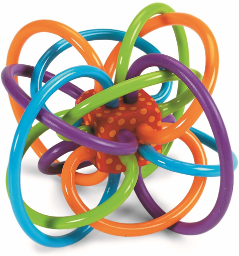 Picture of Winkel Rattle and Sensory Teether Toy
