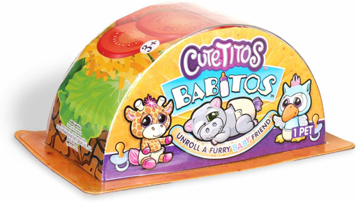 Picture of Cutetitos Babitos-Mystery Stuffed Animals-Collectible Plush, Multicolour