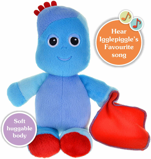 Picture of Snuggly Singing Iggle Piggle Soft Toy, 29cm