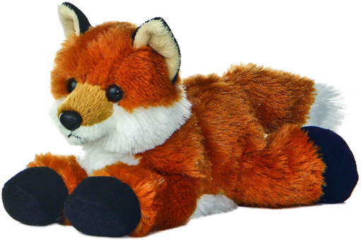 Picture of 8-inch Flopsie Fox, Multicolor
