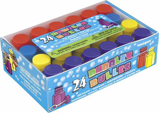 Picture of Mini Party Bubbles Party Bag Fillers, Pack of 24