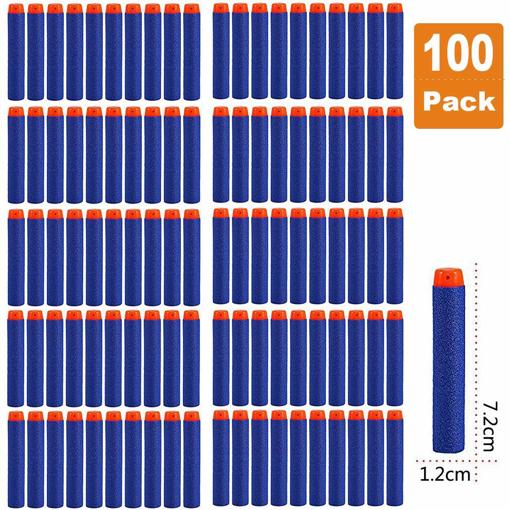 Picture of 100pcs 7.2cm Refill Foam Bullet Darts