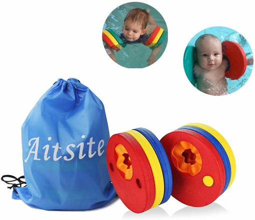Picture of Kids Arm Float Discs Swimming Arm Band Pool Set for Kids ( 6 pcs/Set)