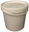 Picture of 10 x 5L - Ltr - Litre Plastic Buckets with Lids - Free Postage