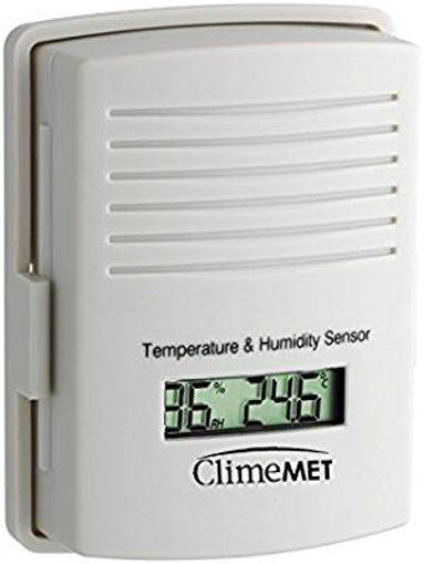Picture of ClimeMET CM9-TH Temperature and Humidity Outdoor Sensor.