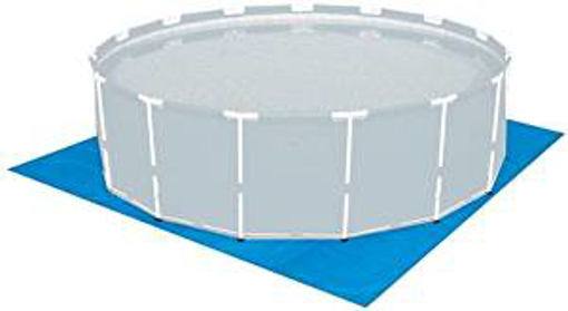 Picture of Bestway 9' 11' 13'ft Swimming Pool Paddling Pool Hot Tub Lawn Ground Tarpaulin Cover