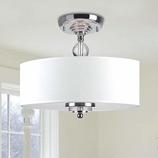 Picture of Modern Chandelier Lighting Flush Mount LED Ceiling Fixture Pendant