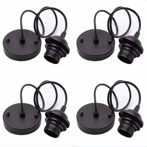 Picture of 4 Pieces Rose Light Pendant Accessories Retro Modern Light Stand