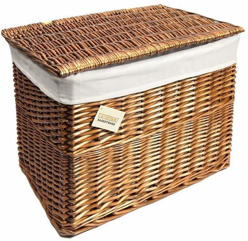 Picture of Medium Brown Wicker Basket,Storage
