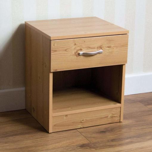 Picture of Pine Bedside Drawer, Bedside Cabinet,