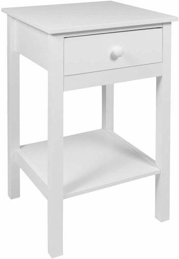 Picture of Bedside Drawer with Shelf Cabinet Side Table Storage Unit