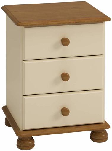 Picture of Steens 3022030246000F Richmond Bedside Cabinet,Multicolo