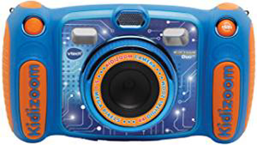 Picture of VTech Kidizoom Duo Camera 5.0|Digital Camera For Children |Electronic Toy Camera |Photos & Video For Kids Aged 3 - 4 - 5 - 6 - 7 - 9 Years Old - Blue