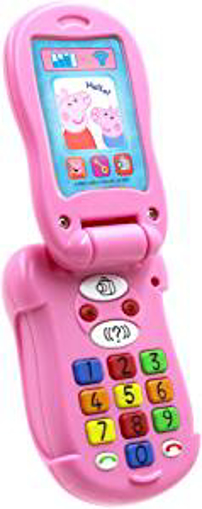 Picture of Peppa Pig PP06 Flip and Learn Phone Electronic Toy