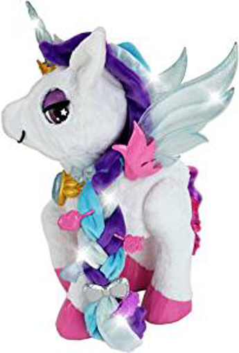 Picture of VTech Myla The Magical Make-Up Unicorn Toy with Microphone for Kids | Interactive Toy with Kids Microphone and Unicorn Make Up Brush & Palette | Suitable for Children 5 - 6 - 7+ Year Olds - Boys & Girls