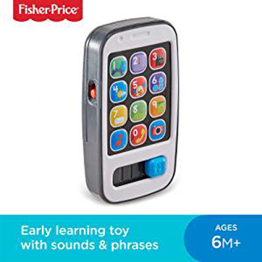 Picture of Fisher-Price 900 BHC01 Smart Phone Laugh and Learn Electronic Speaking Kids Role Play Toy Phone Suitable for 6 Months Plus