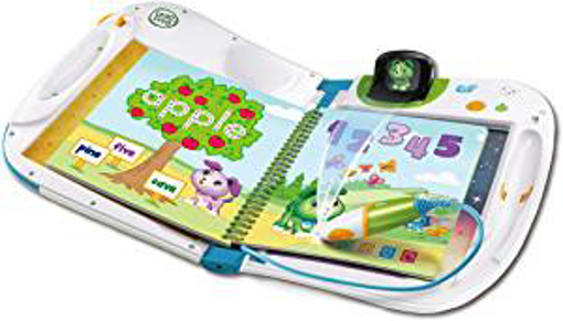 Picture of LeapFrog 603903 Holo Educational Book with Games and Learning Activities Toddler and Pre School Leap Start Toy - Blue - One Size