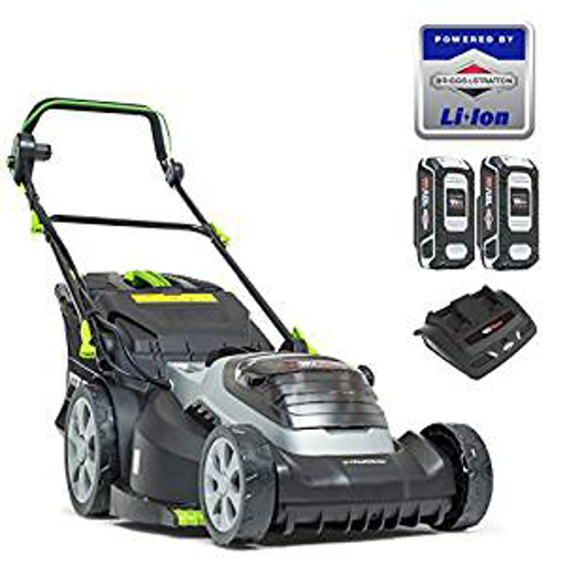 Picture of Murray 883266 Lithium-Ion 44cm Lawn Mower IQ18WM44 - Including 2X 5Ah Battery and Dual Charger - 5 Years Warranty