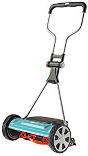 Picture of Gardena Comfort Cylinder Mower 400 C: Manual Mower with a 40-cm Working Width for Lawn Areas of up to 250 m sq - Blade Cylinder of High-Quality Steel - Touchless Cutting Technology (4022-20)