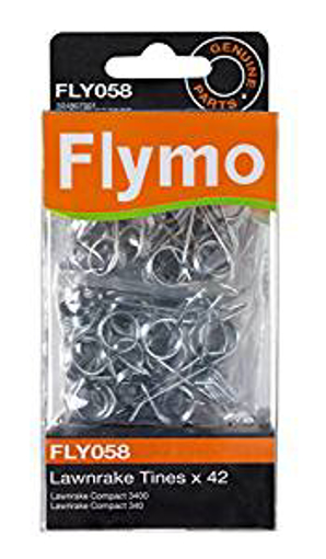 Picture of Flymo FLY058 42 Replacement Metal Tines to suit Lawn rake Compact 340/3400
