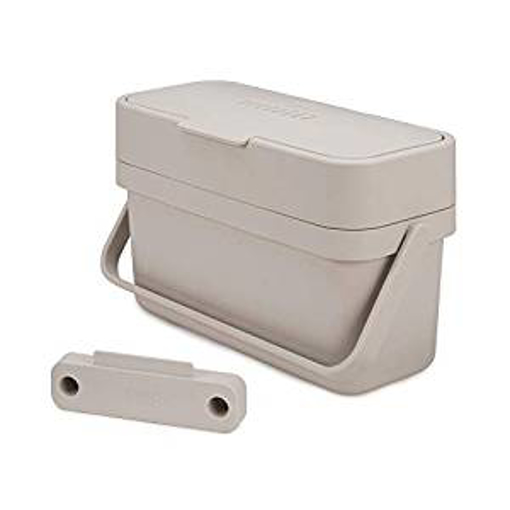 Picture of Joseph Joseph Compo 4 Easy-fill Food Waste Caddy-4 Litres-Stone - 4L