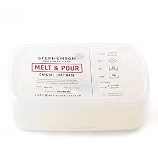 Picture of Melt and Pour Soap Base Clear SLS FREE - 2Kg