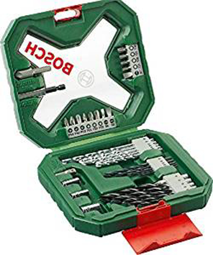 Picture of Bosch 2607010608 X-Line Classic Drill and Screwdriver Bit Set - 34 Pieces