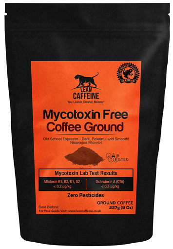 Picture of Gourmet Lean Caffeine Bulletproof Coffee Weight Loss Ground Grounded coffee 227g