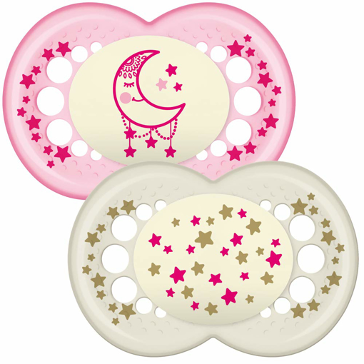 Picture of MAM Original Soothers Suitable 12 Months with Sterilisable Travel Case - Pack of