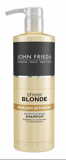 Picture of John Frieda Sheer Blonde Highlight Activating Moisturising Shampoo - 500 ml