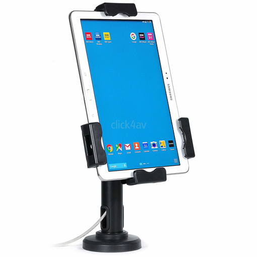 Picture of Lockable iPad Tablet Wall Case or Desk Mount Stand Secure Anti Theft Counter